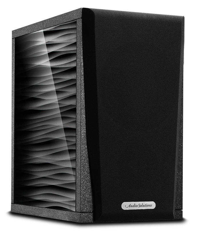AudioSolutions Overture O202B Kolor: Czarny teksturowany