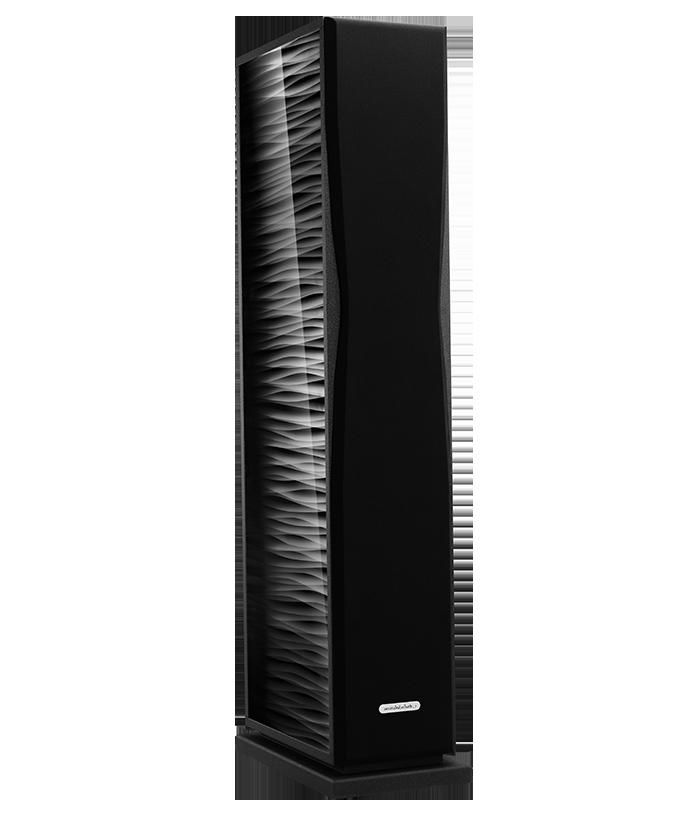 AudioSolutions Overture O205F Kolor: Czarny teksturowany