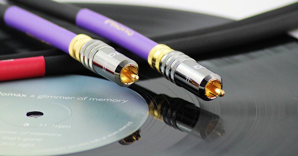 Tellurium Q Phono RCA Black interkonekt Długość: 1,0 m