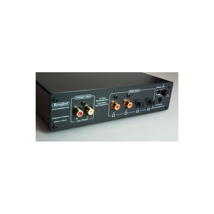 DAC Beresford TC-7533 Bushmaster+M2Tech HiFace Two USB+coax