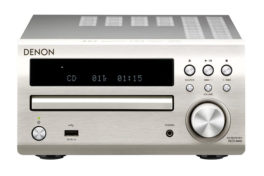 Denon RCD-M40 Kolor: Srebrny