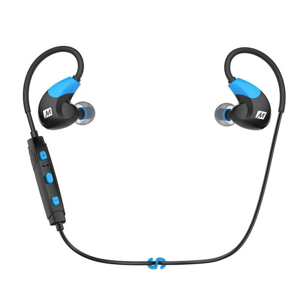 Mee Audio X7 Kolor: Czarno-niebieski