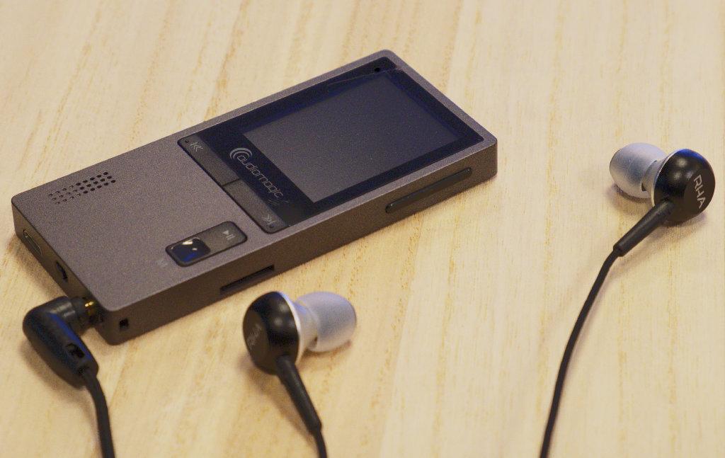 Audiomagic Player Wielkość pamięci: bez pamięci