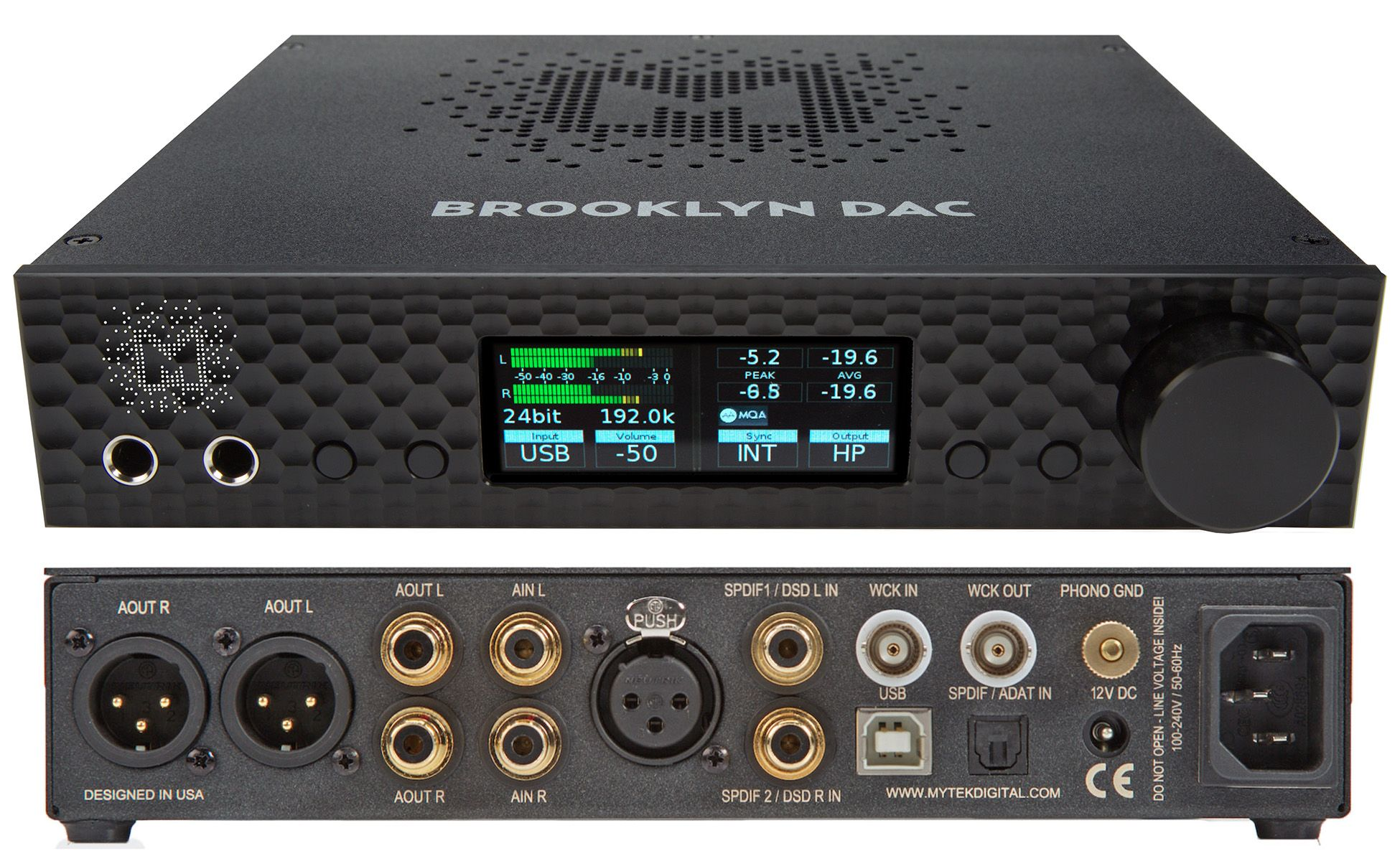 Mytek Brooklyn DAC Kolor: Srebrny